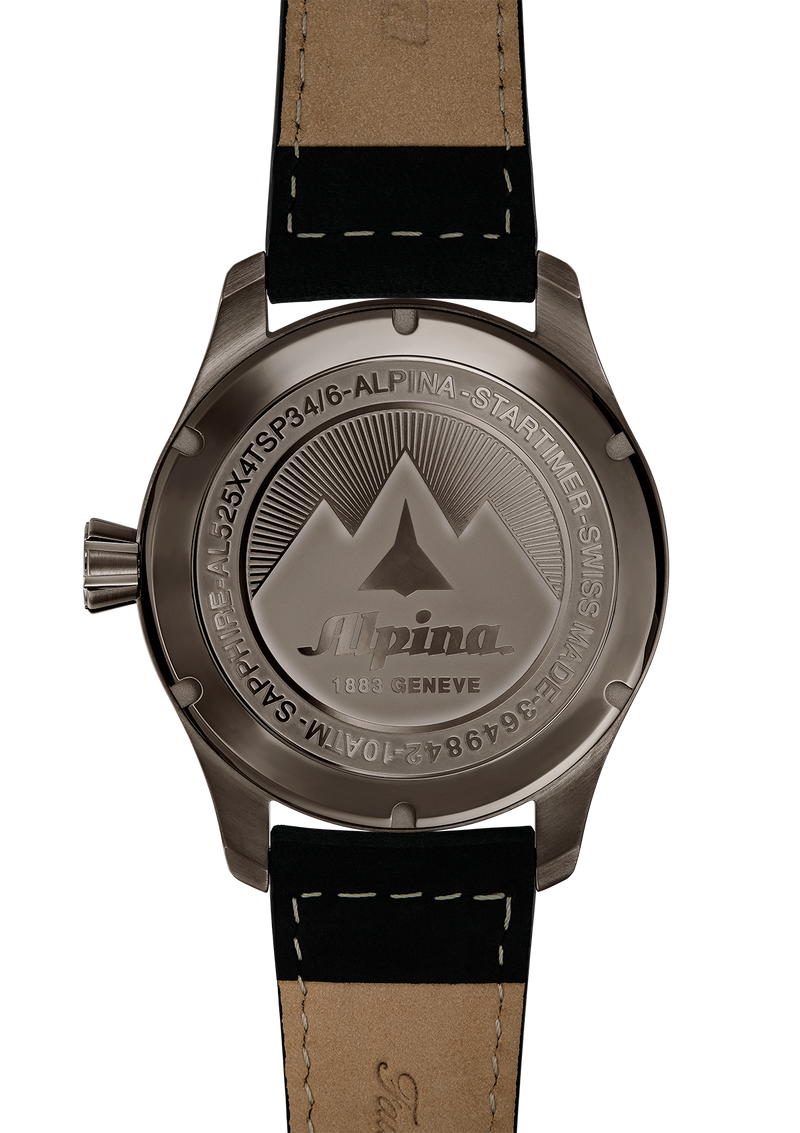 Automatic Matte Dark Grey | Startimer Pilot | Alpina Watches