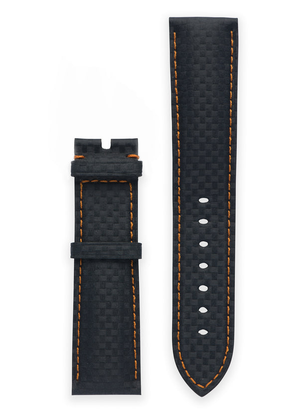 ALPINERX <br> CORAMID NAVY ORANGE STRAP <br> 22MM