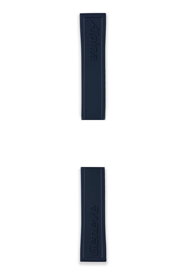 ALPINERX <br> NAVY RUBBER STRAP <br> 22MM