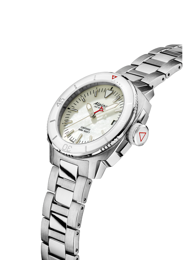 Seastrong Diver Comtesse White | Waterproof Watches | Alpina Watches