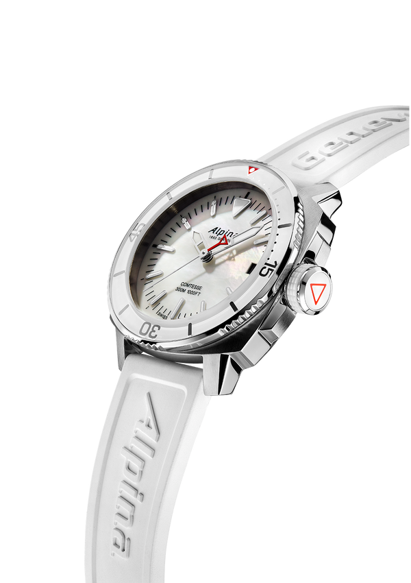 Seastrong Diver Comtesse White | Mother-of-Pearl Dial | Alpina Watches
