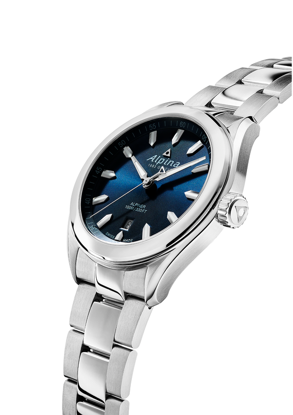 Alpiner Quartz Blue Bracelet | Stainless Bracelet | Alpina Watches