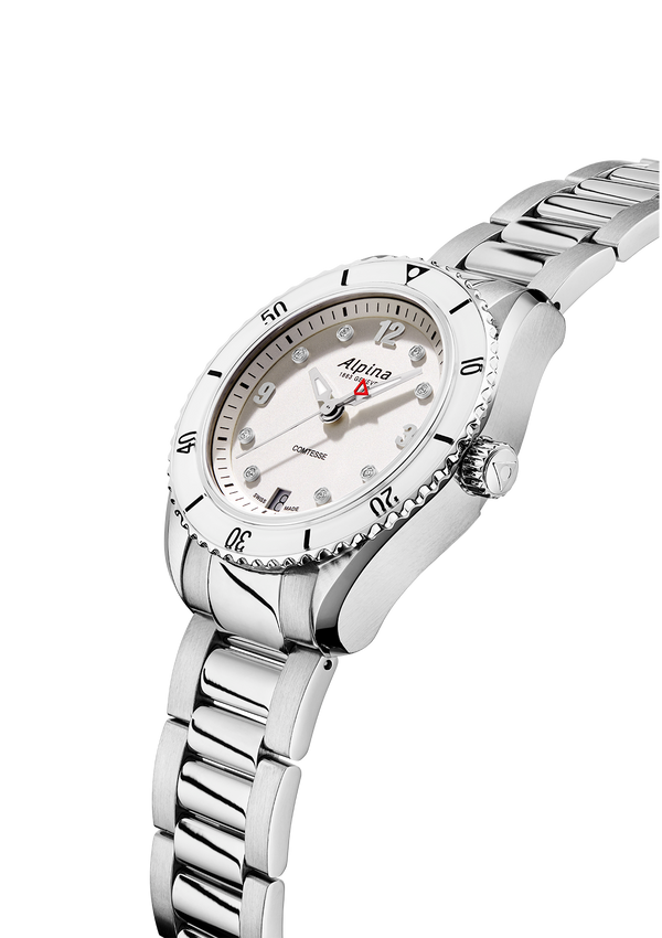 Alpiner Comtesse Sport Quarts Silver Bracelet | Alpina Watches
