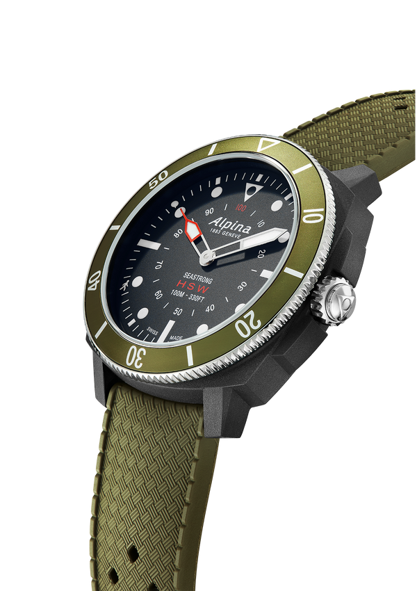 Seastrong Horological Smartwatch | Diver Smartwatch | Alpina Watches