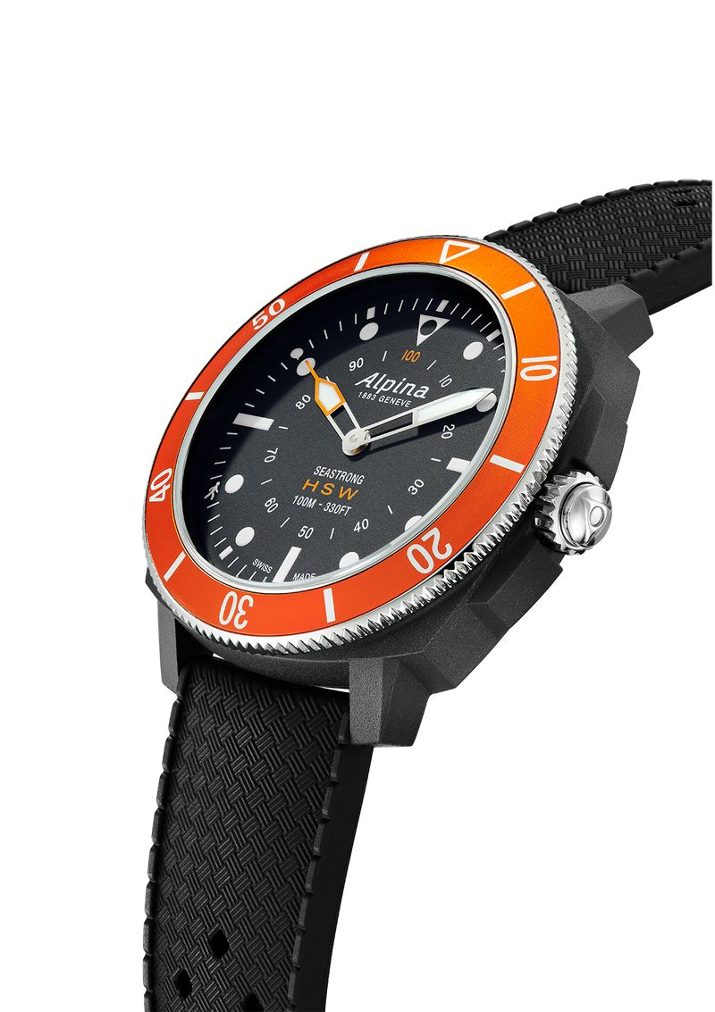 SEASTRONG <br> HOROLOGICAL SMARTWATCH <br> BLACK