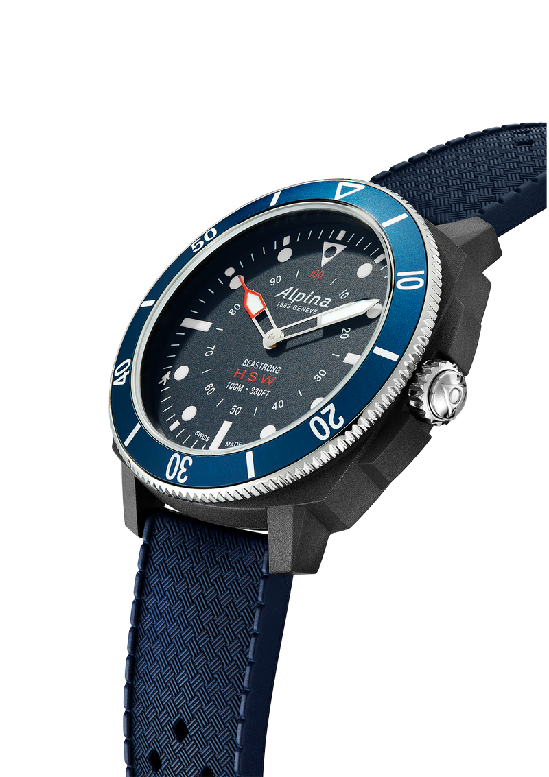 SEASTRONG <br> HOROLOGICAL SMARTWATCH <br> BLUE
