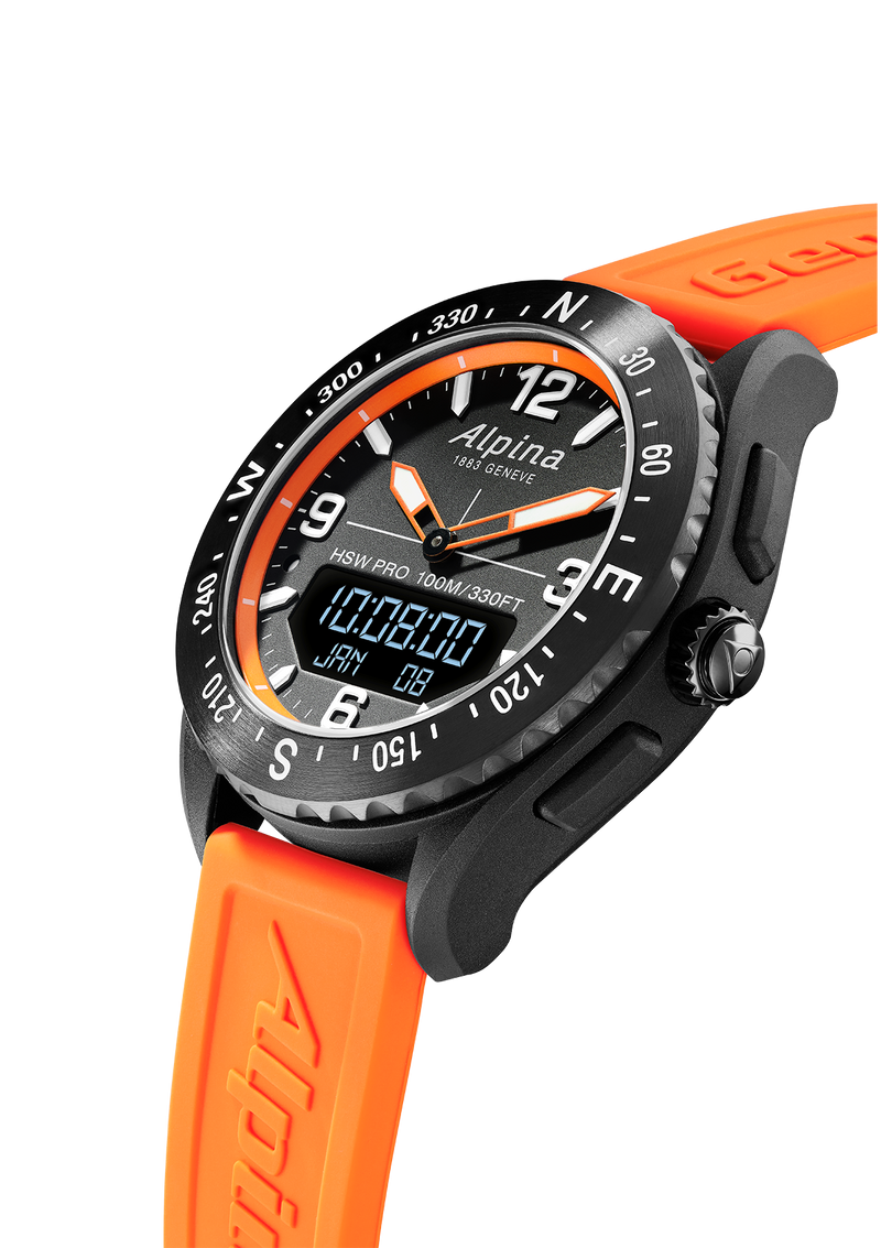ALPINERX <br> BLACK / ORANGE