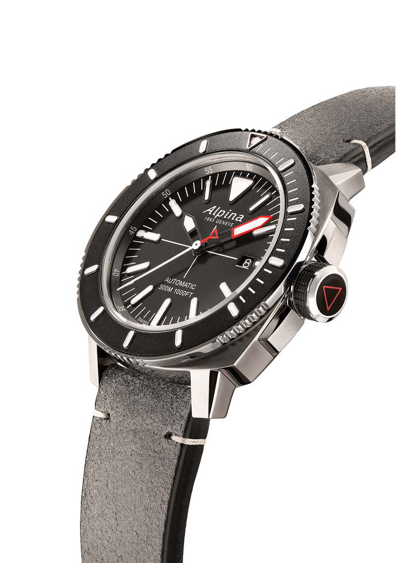 Seastrong Diver 300 Grey | Automatic Caliber Watch | Alpina Watches