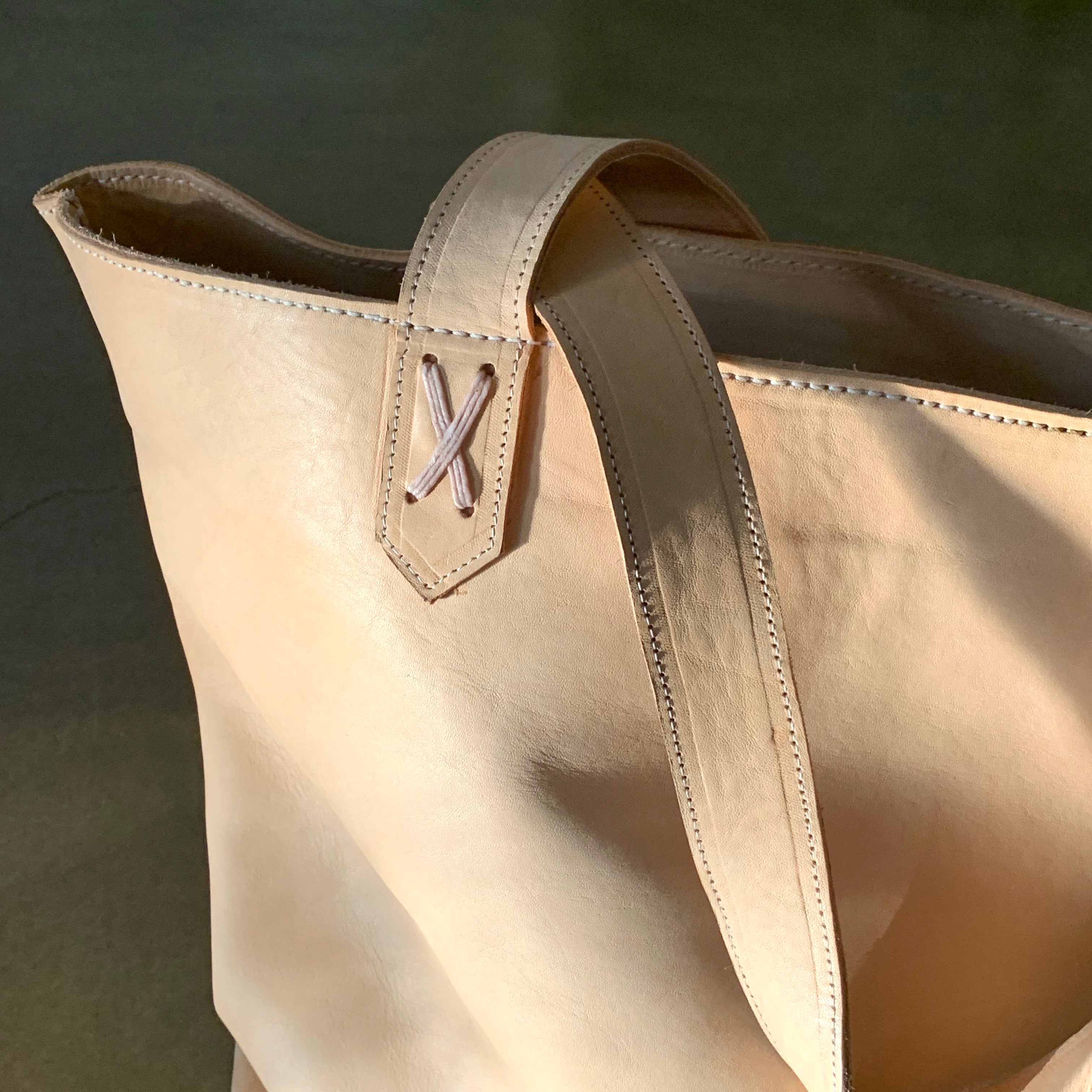 OVERSIZE TOTE / UNDYED