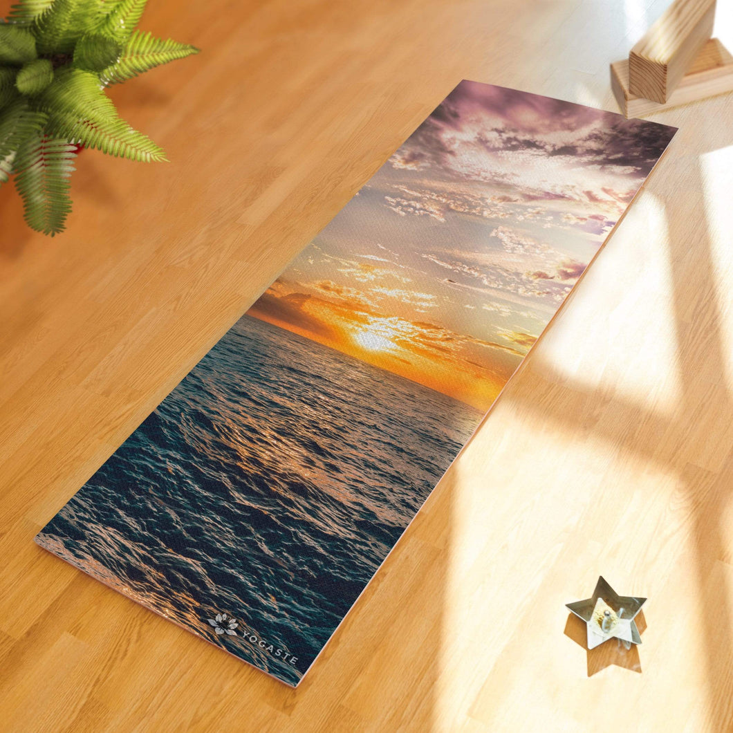 Ocean Sunset Yoga Mat