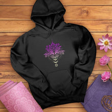 Load image into Gallery viewer, OM Lotus Flower Hoodie