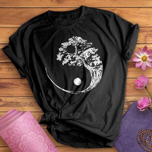 Yin Yang Bonsai Tree Tee