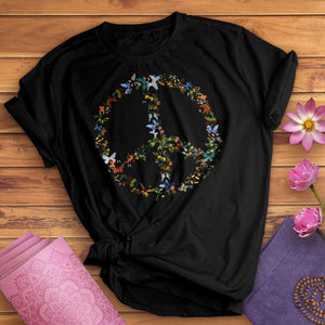 Butterfly Peace Sign Tee