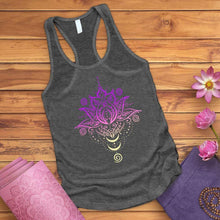 Load image into Gallery viewer, OM Lotus Flower Tank Top