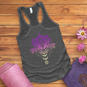 OM Lotus Flower Tank Top