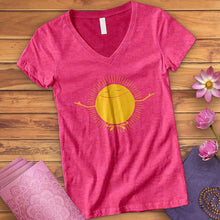 Load image into Gallery viewer, Buddha Sun V-Neck