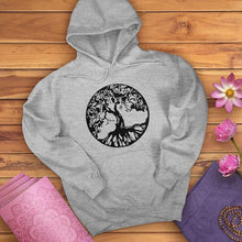 Load image into Gallery viewer, Circle Tree of Life Hoodie