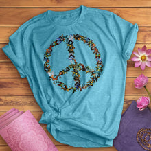Load image into Gallery viewer, Butterfly Peace Sign Tee
