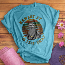 Load image into Gallery viewer, Sloth Namast'ay Tee