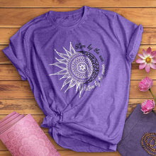 Load image into Gallery viewer, Live By The Sun Love By The Moon Tee