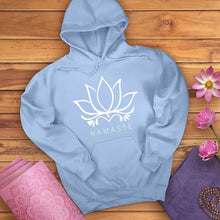 Load image into Gallery viewer, Namaste Lotus Hoodie