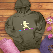 Load image into Gallery viewer, Pug Warrior Pose Hoodie