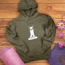 Load image into Gallery viewer, Llama Llamaste Hoodie