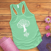 Load image into Gallery viewer, Flower Zen Tree Tank Top