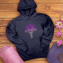 Load image into Gallery viewer, Om Lotus Hoodie