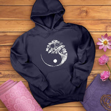 Load image into Gallery viewer, Yin Yang Bonsai Tree Hoodie