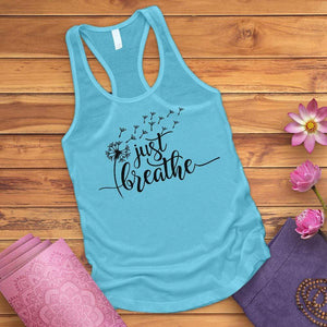Just Breathe Dandelion Tank Top