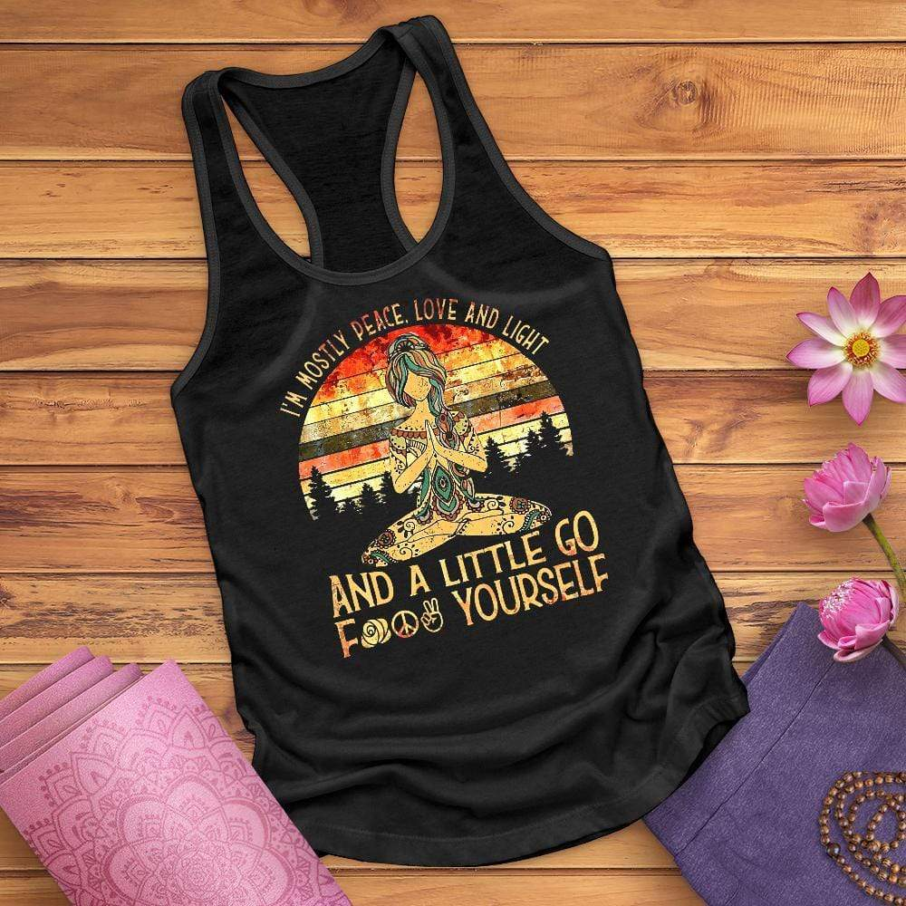 Mostly Peace Tank Top