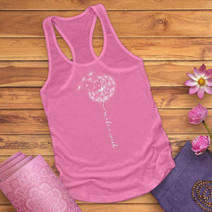 Make A Wish Dandelion Tank Top