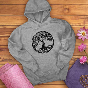 Circle Tree Of Life Hoodie