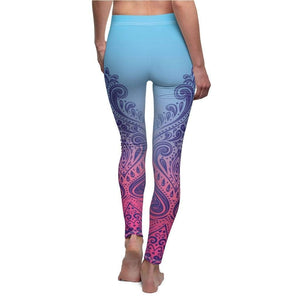 Tribal Mandala Yoga Pants