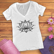 Load image into Gallery viewer, Lotus Blossom V-Neck