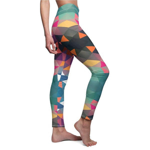 Abstract Geometric Yoga Pants