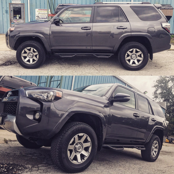 2016 Toyota 4Runner with 2 inch Rough Country lift Kit Installed