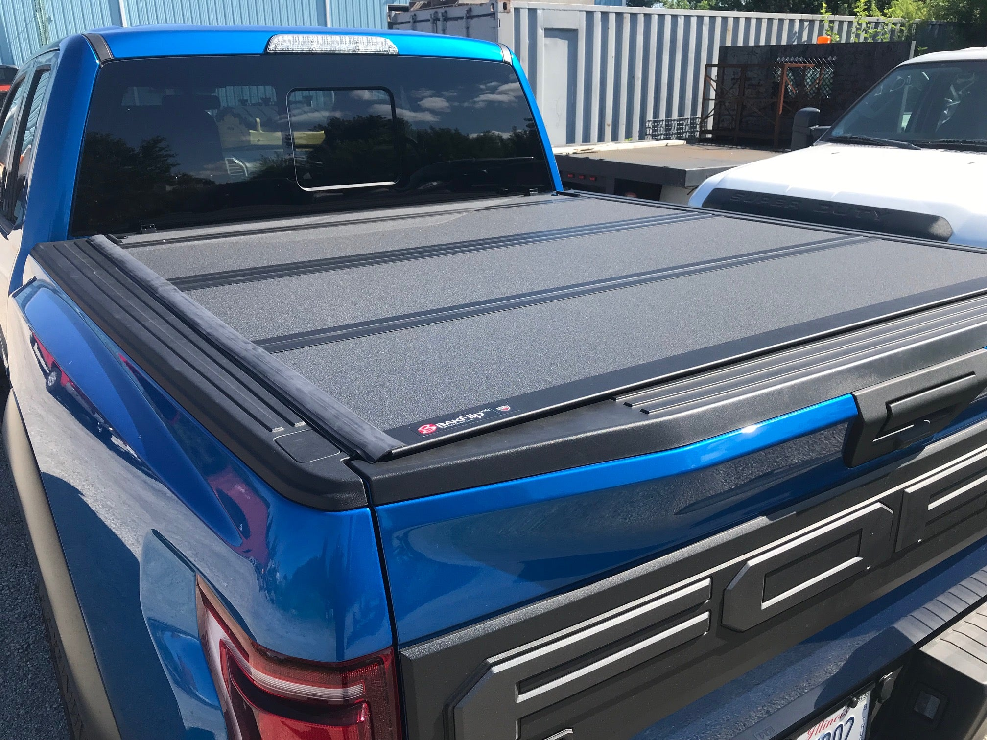 2019 Ford Raptor WIth Bakflip Tonneau Cover Installation Near Me
