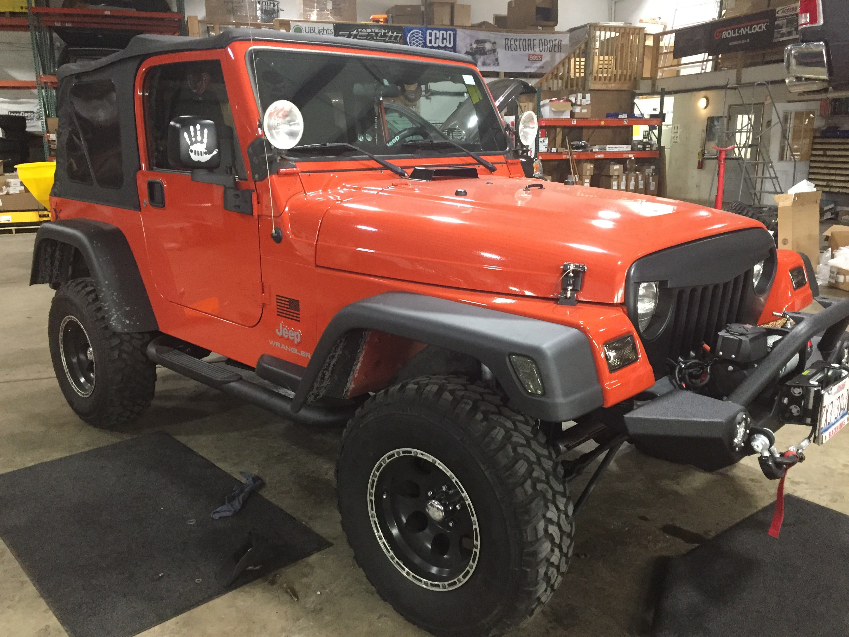jeep off road bumpers
