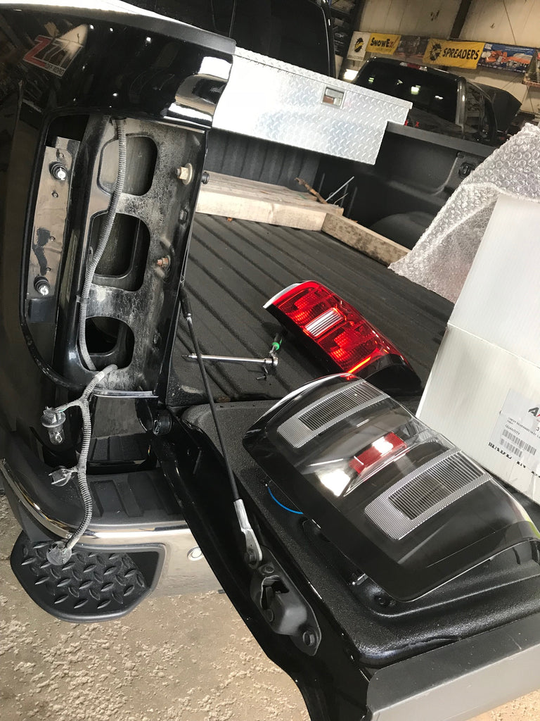 Aftermarket Anzo LED Tail Lights installation