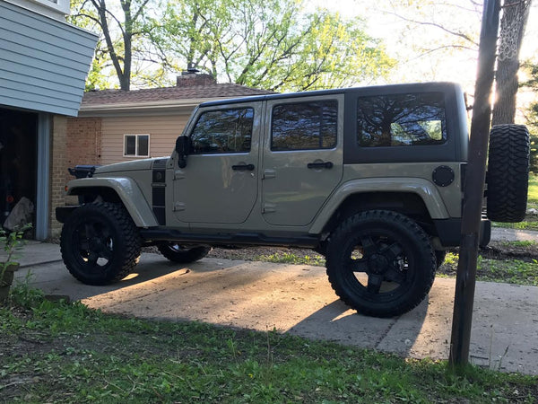 Army Jeep Customized At CPW Truck Stuff & Wheels