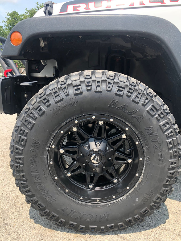 Fuel Offroad Rim and Tire Financing