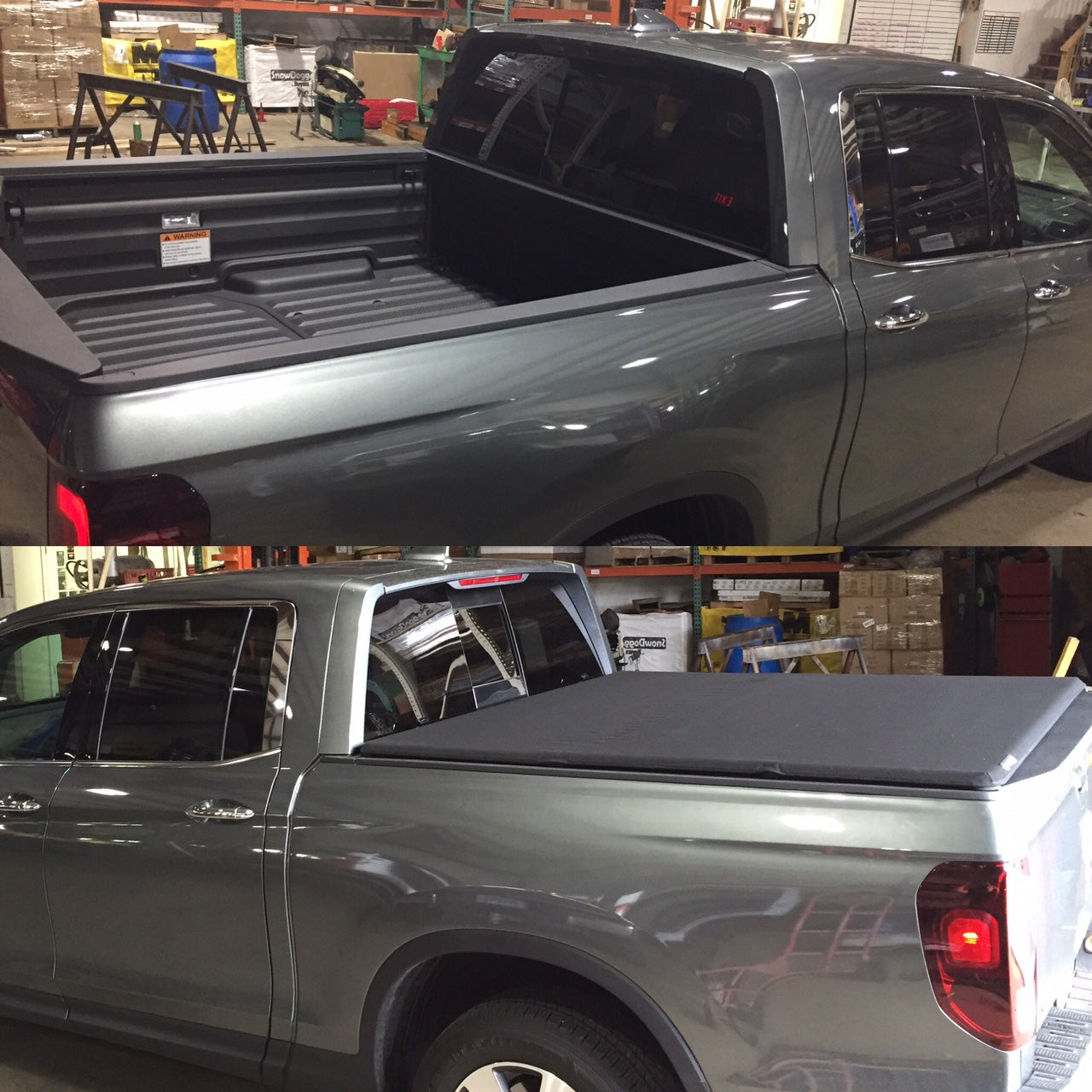 Before & After Tonneau Cover Installation Near Me