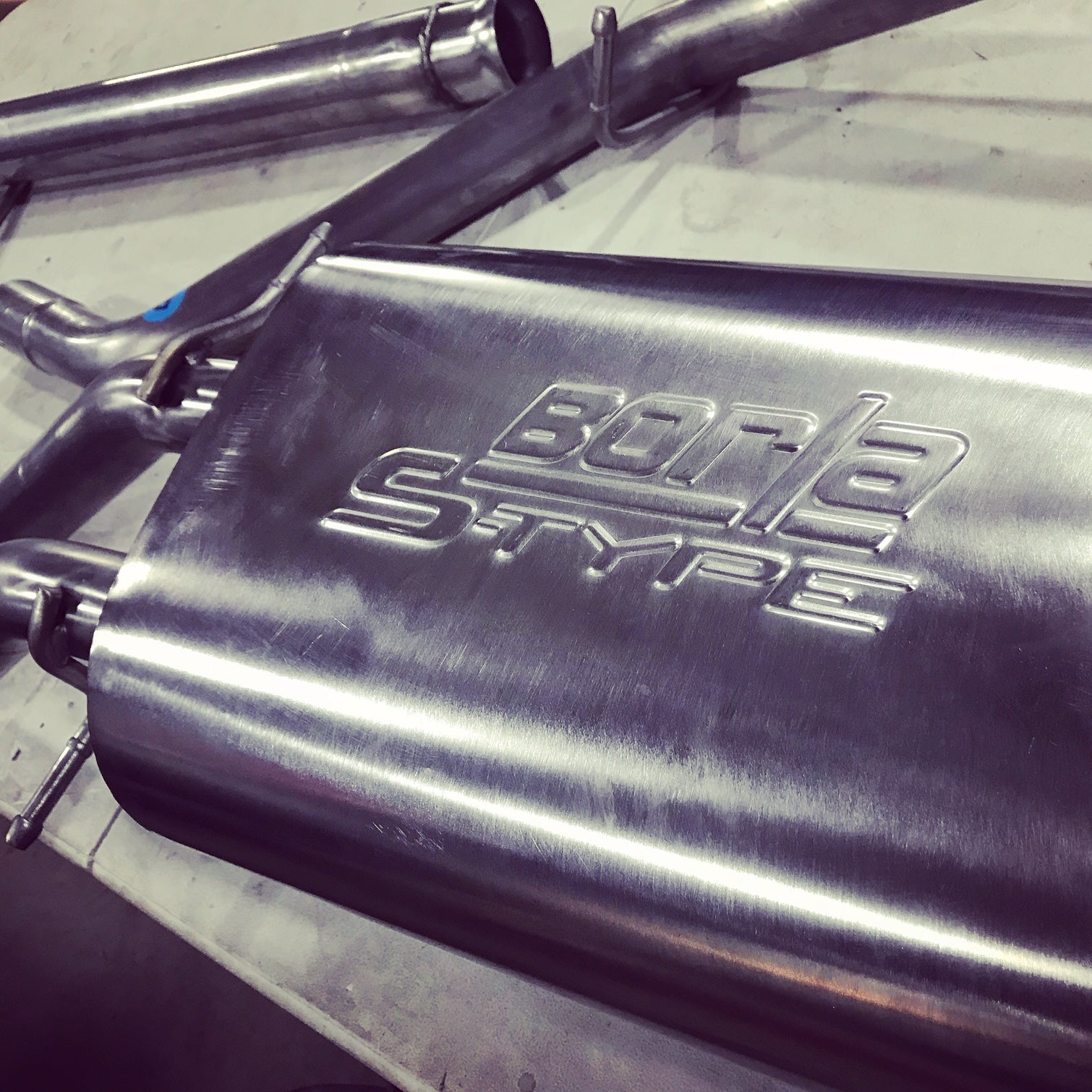 truck exhaust systems - Borla S-Type Performance Aftermarket Exhaust Installation CPW Truck Stuff