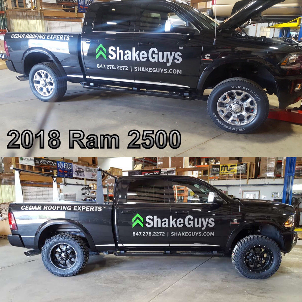 Shake Guys Roofers Lift Kit & Offroad Wheel/Tire Build