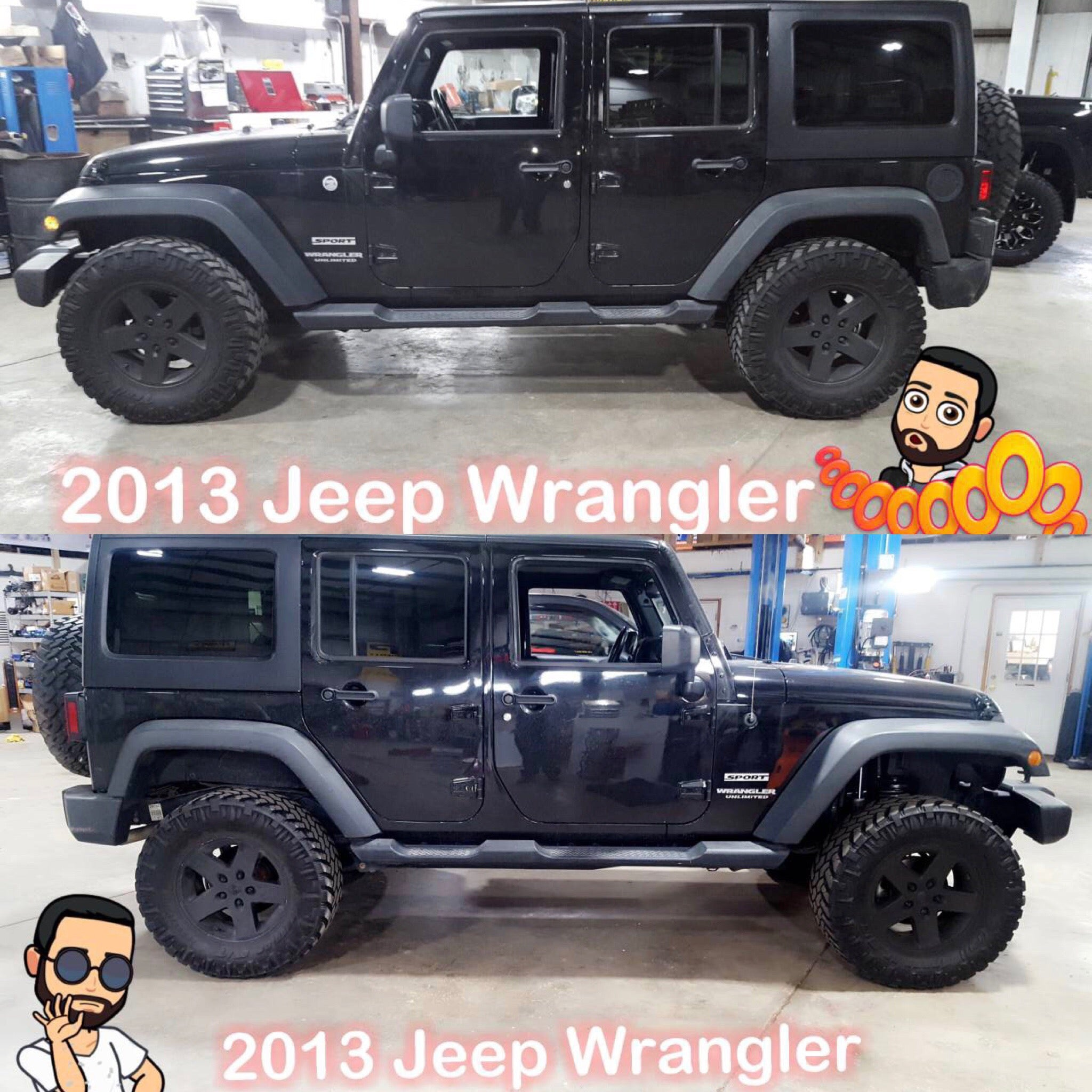 Lifted 2013 Jeep Wrangler For Sale