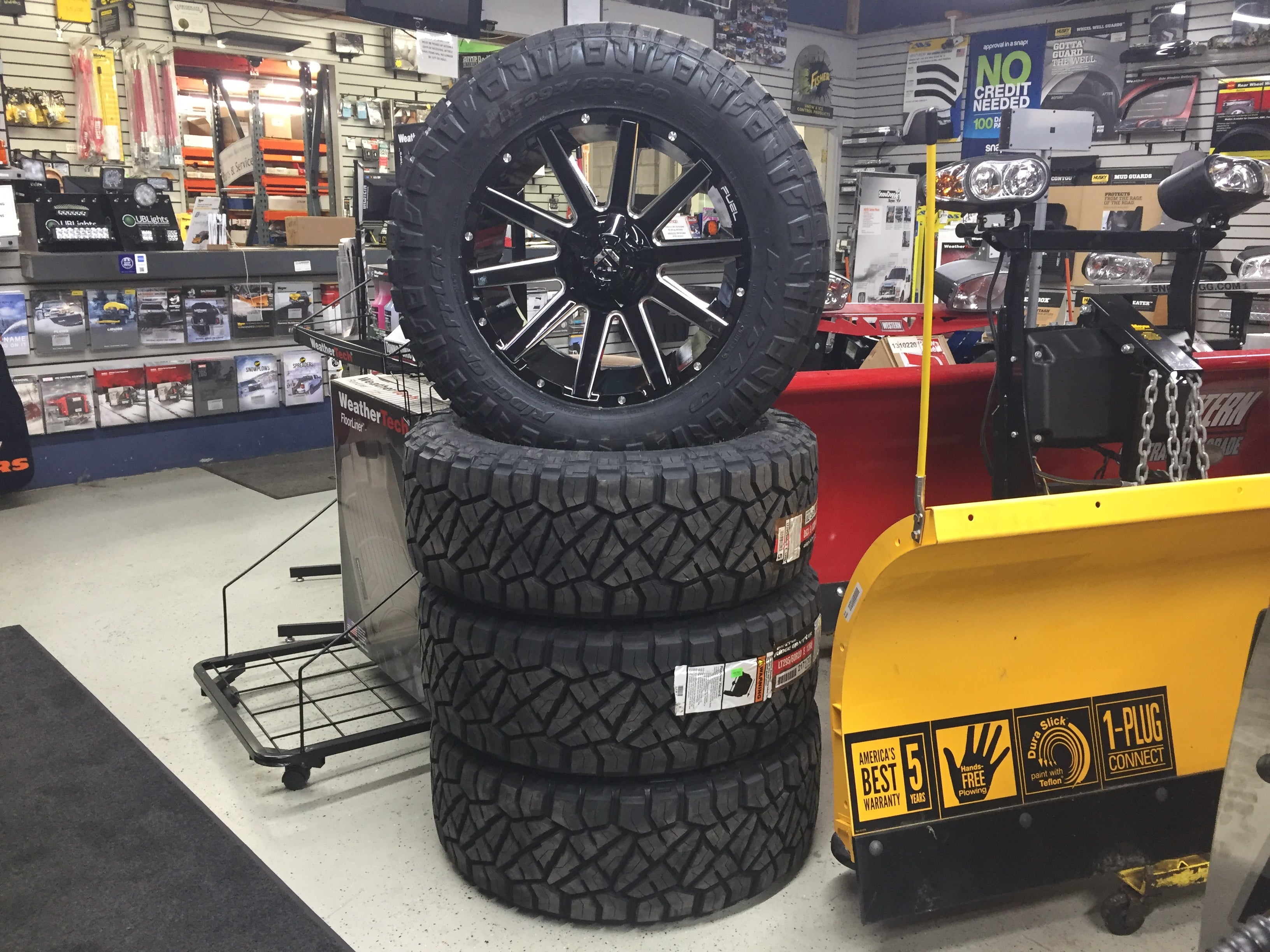 Homer Glen Illinois Fuel Contra 20 inch off road wheels and nitto grappler tires
