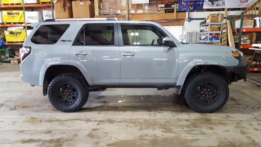 Gray Custom Lifted 4 Runner Chicago Illinois 4x4 Parts at CPW Truck Stuff