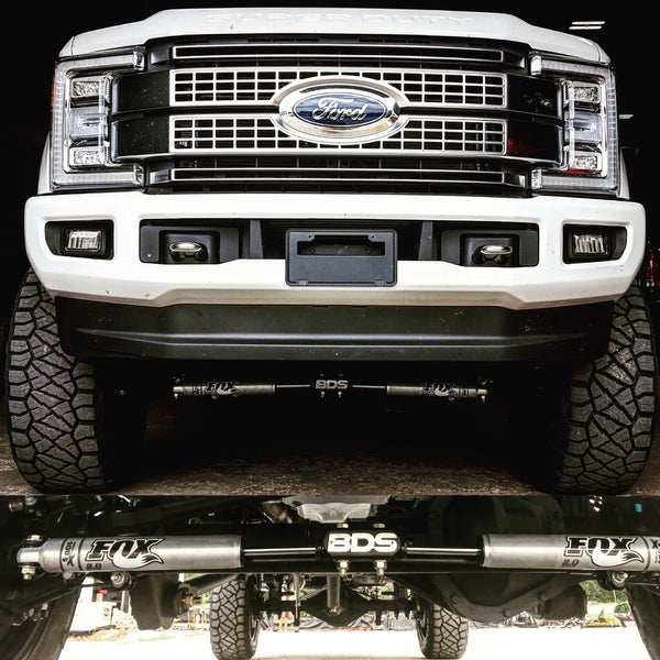 BDS Lift Kit Installation on Ford Truck